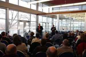 KU Boathouse gathering Jan. 29, 2012