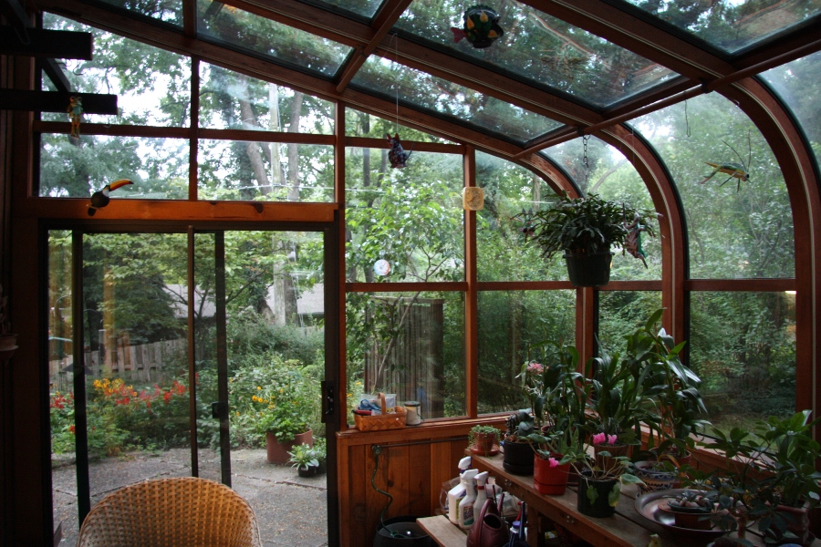 Design guides for sunspaces and greenhouses, sunspace plans