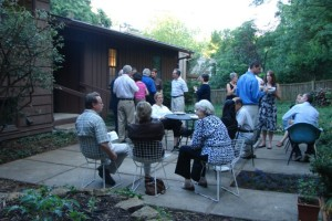 Robert Hess welcoming & house tour event, May 2009