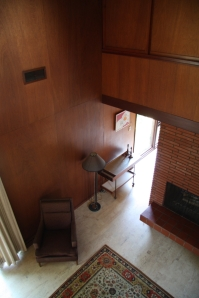Another angle of living room from above