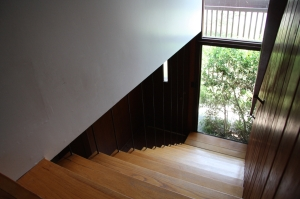 Stairway viewed from 2nd floor