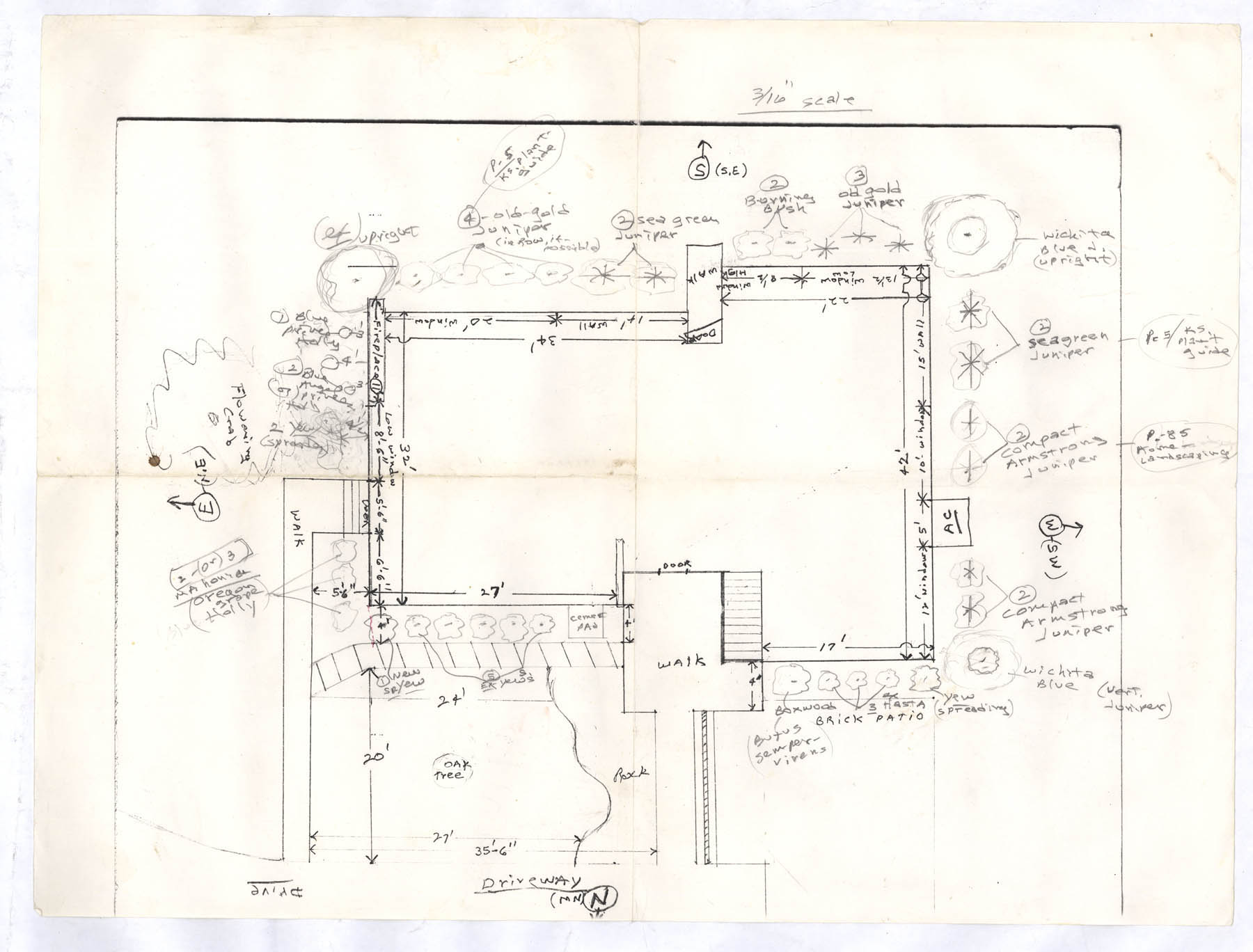 Architectural plans click images to expand lawrence for Plot plan drawing