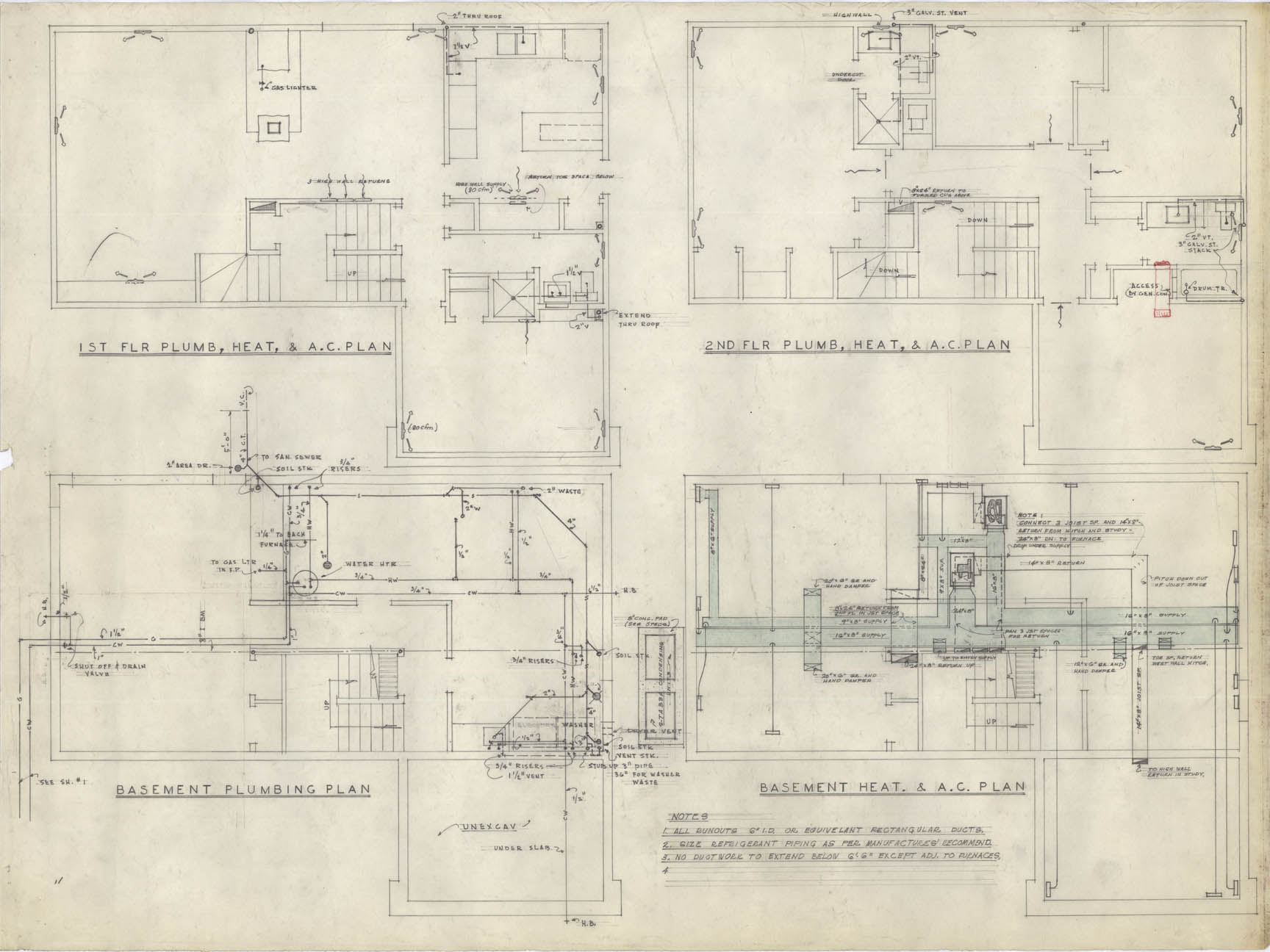 Architectural Drawings Click Images To Expand 171 Lawrence