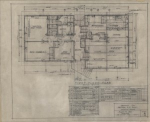 First-floor plan