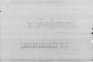 Northeast & southwest elevations