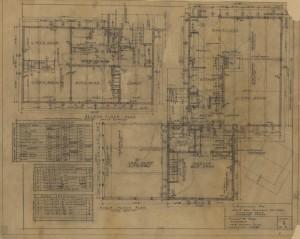 First-floor plan