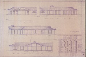 Various elevations & finish schedule