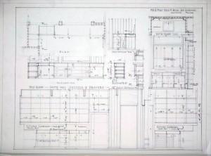 Kitchen & bedroom dresser details
