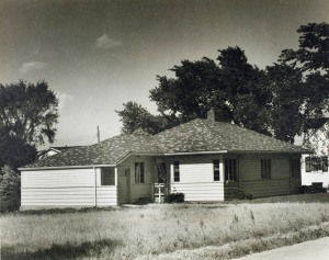 West elevation, 1938