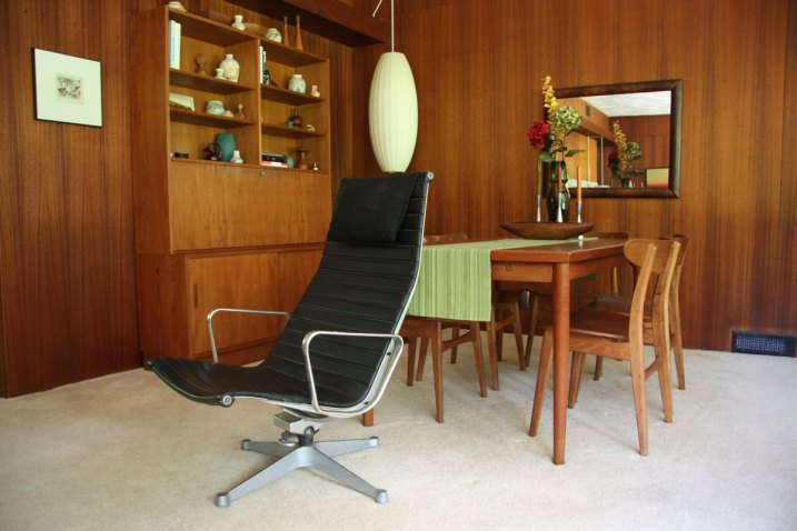 Herman Miller Eames Aluminum Group chair