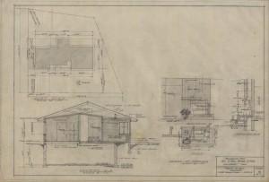 Plot plan & fireplace details
