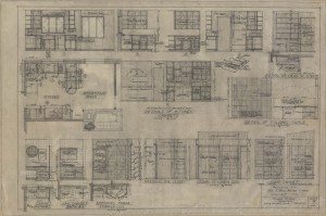 Kitchen cabinet & other details
