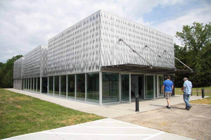 "The new ""EcoHawks"" Hill Engineering Center building on KU's West Campus."