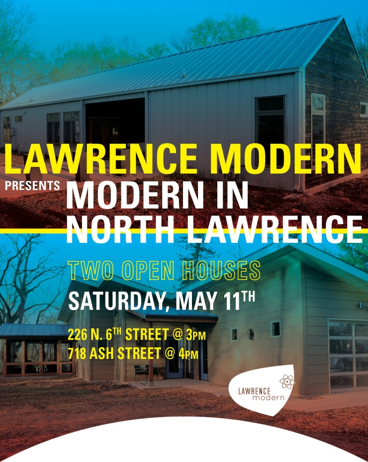Lawrence Modern Open Houses May 2019